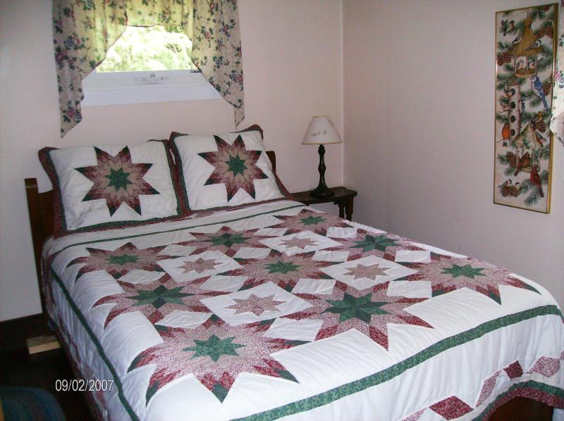 Sovrummet på bottenvåningen