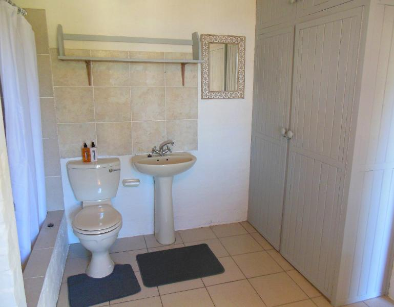 Shower/toilet facilities