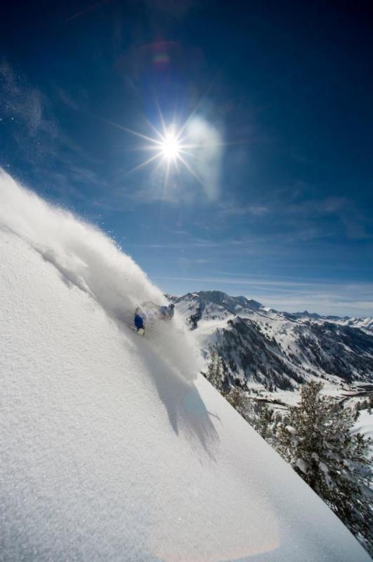 """Een perfecte poeder dag op """"De grootste sneeuw op aarde""""!"""