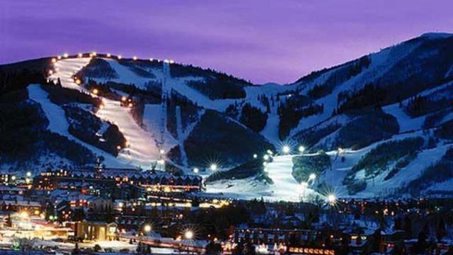 Nacht skiën op PCMR met toegang vanuit de stad Lift stoel