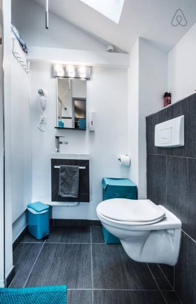 1er piso: WC