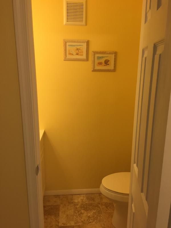 1/2 Bath Off Foyer
