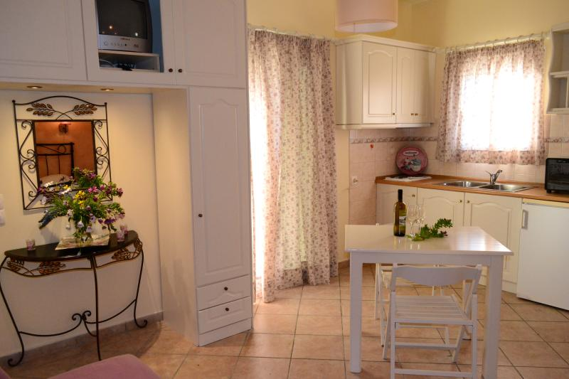 View of sitting room - kitchen