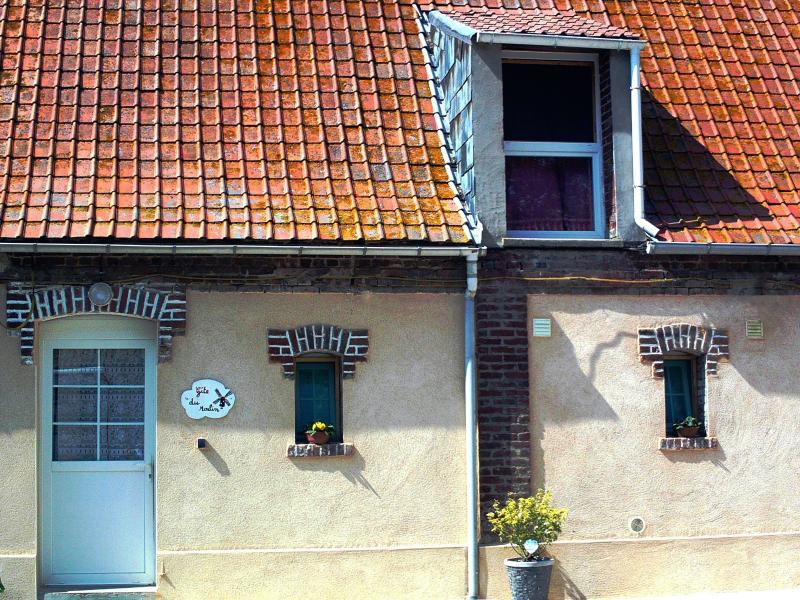 facade du gîte du Moulin