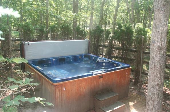 Hot tub... afgelegen