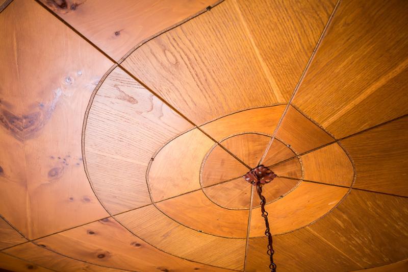 il soffitto in legno