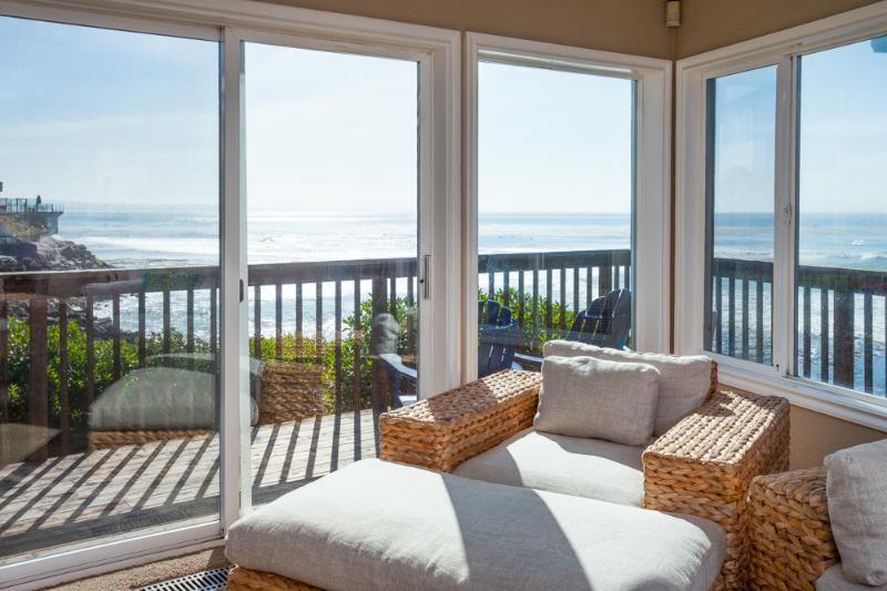 Amazing Ocean view from the living room