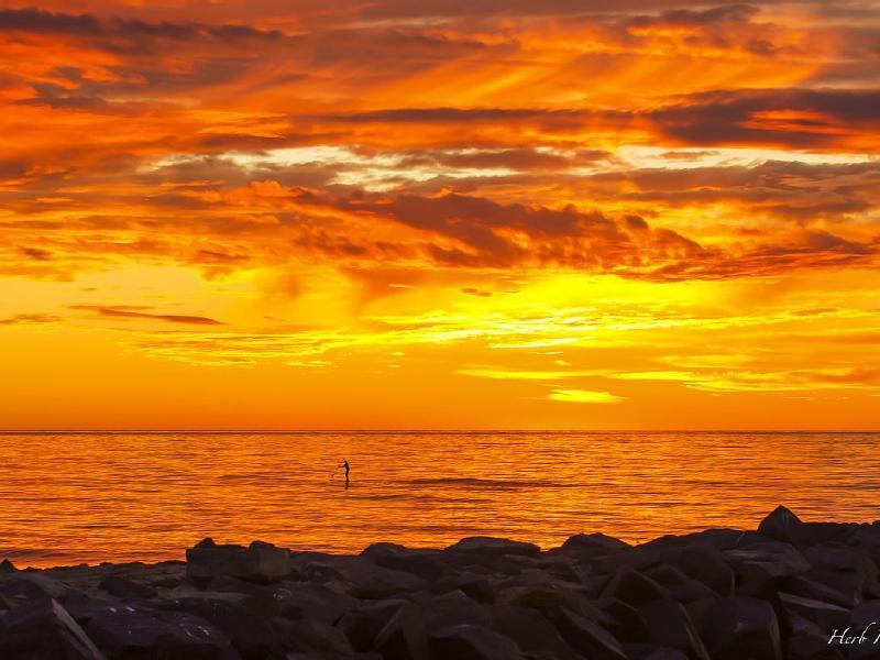 Redondo Beach Sunset nunca pasa de moda