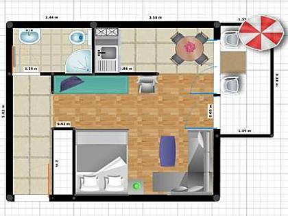 SA3(2+2): floor plan