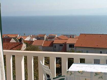 Zeleni (2 + 2): vista desde el balcón