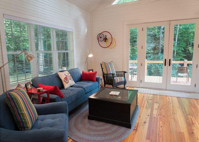 Great Room Opens to Deck