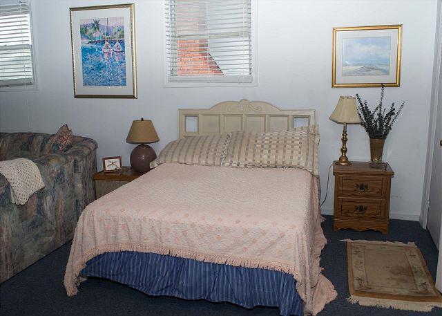 Sleeping Area in Apartment
