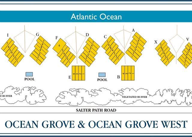 Ocean Grove Lageplan