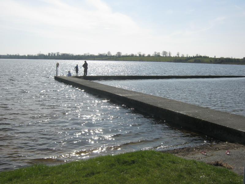 Keeldra lake (10 mins), good for swimming