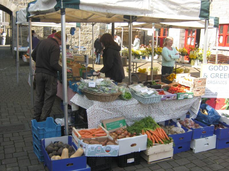Carrick-on-Shannon (30 mins) market on Thursday morning