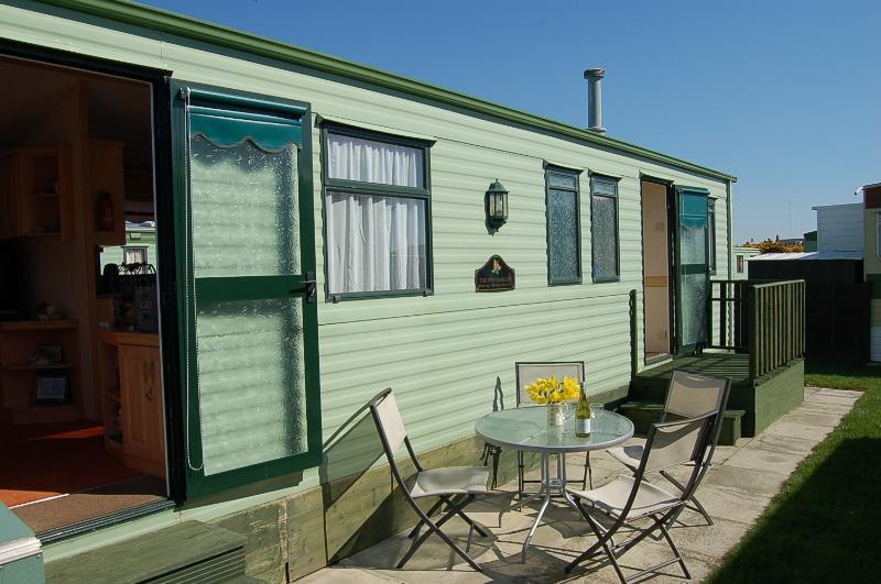Caravan 252 Bryn Y Mor on Tywyn Beach, aluguéis de temporada em Tywyn