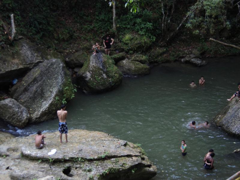 River recreational area name El Trece. A 30 minutes drive from villa.