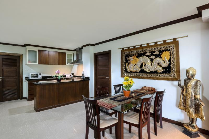 Dining room and Kitchen open plan.
