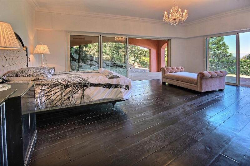 Master guest bedroom with terrace