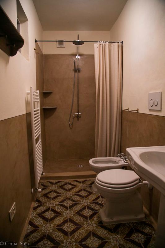 camera del Salice - il bagno
