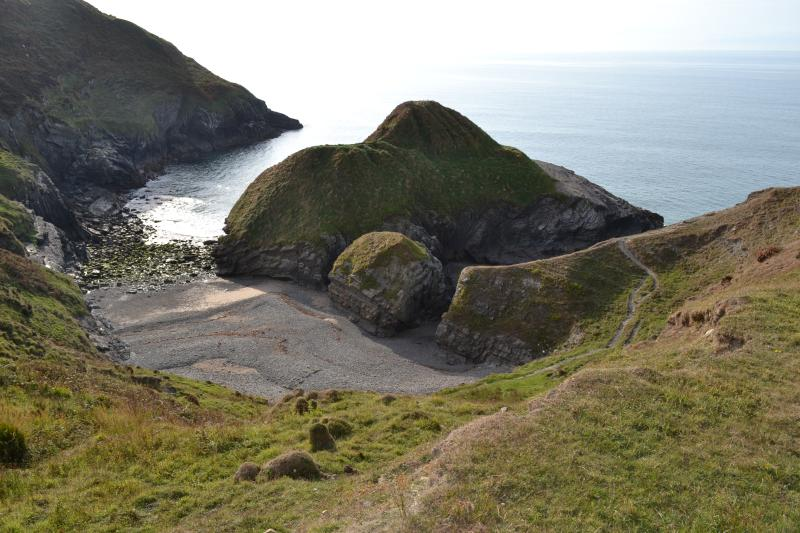 Discover a secret beach on the Cardigan Bay coast