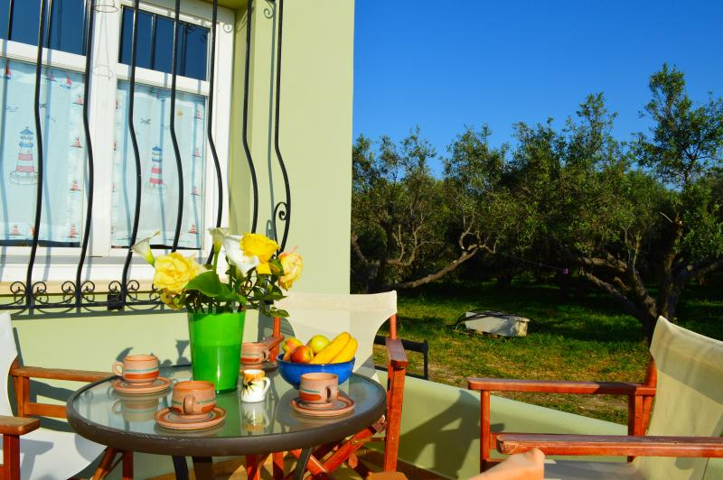 balcon + repas en plein air