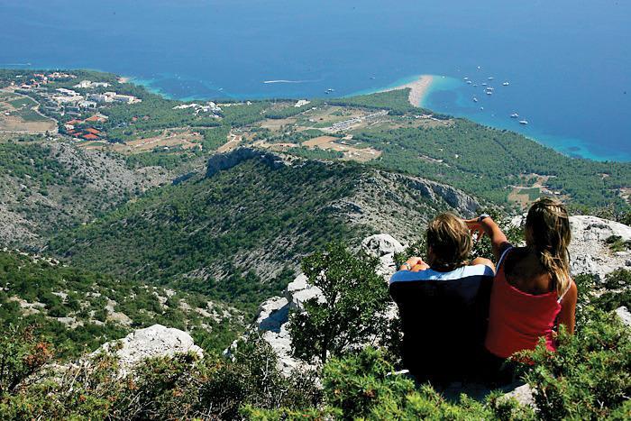 View from the Vidova gora hill