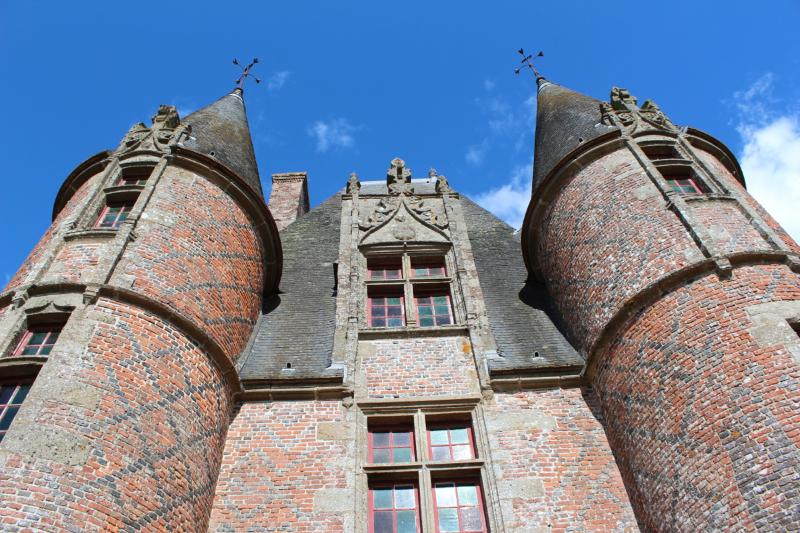 Chateau at Carrouges - the gatehouse