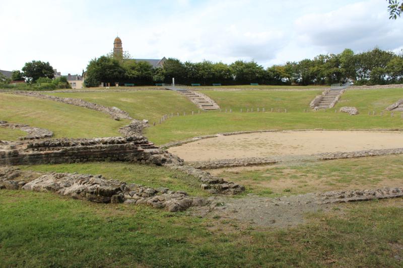 Jublains - Roman open air theatre
