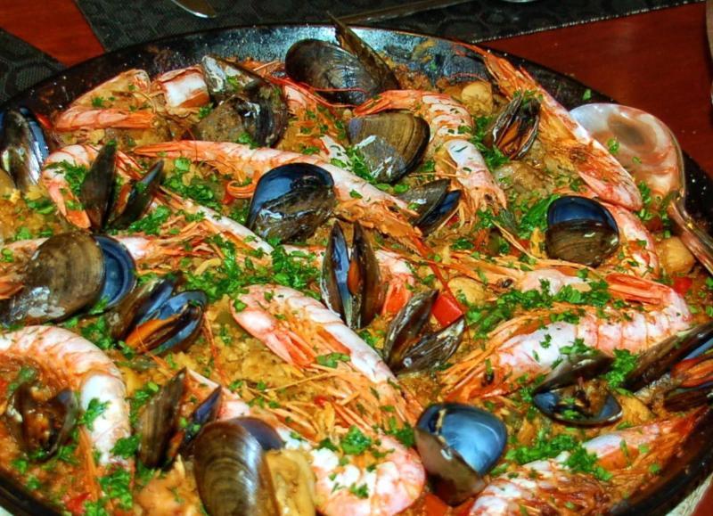 Lokala spanska köket