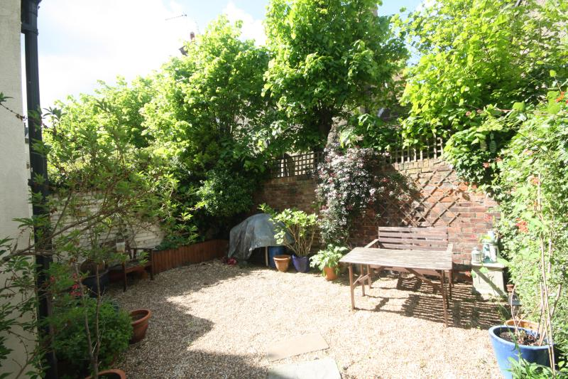 A bit of piece and quiet in the private back garden