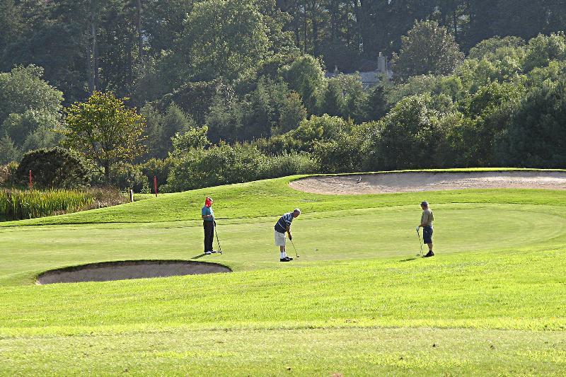 Play Golf at Highbullen Golf Club 5 mins away