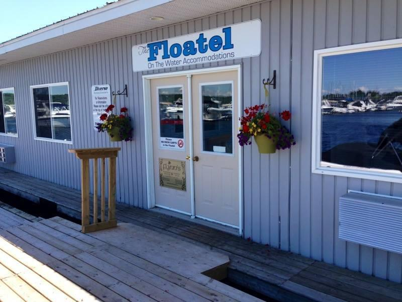 Welcome to the Floatel