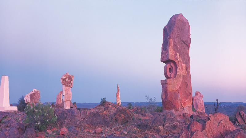 Magnificent Sculpture Park by world renown artists just outside Broken Hill