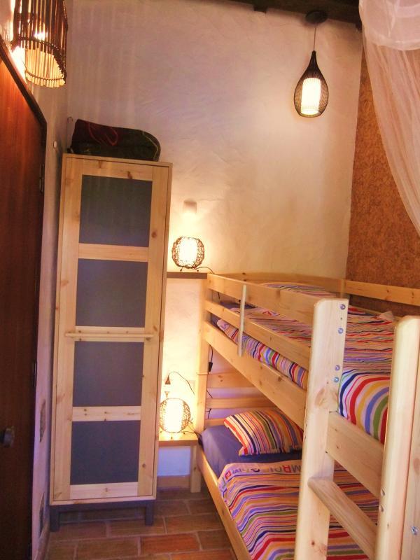 Schlafzimer mit Etagenbett