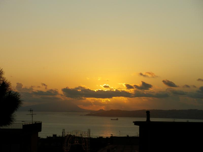a wiew of bay of Naples