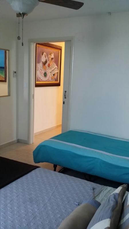 Deuxième chambre à coucher, lit queen size avec lit jumeau