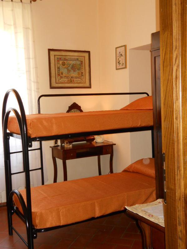 Bedroom with bunk beds