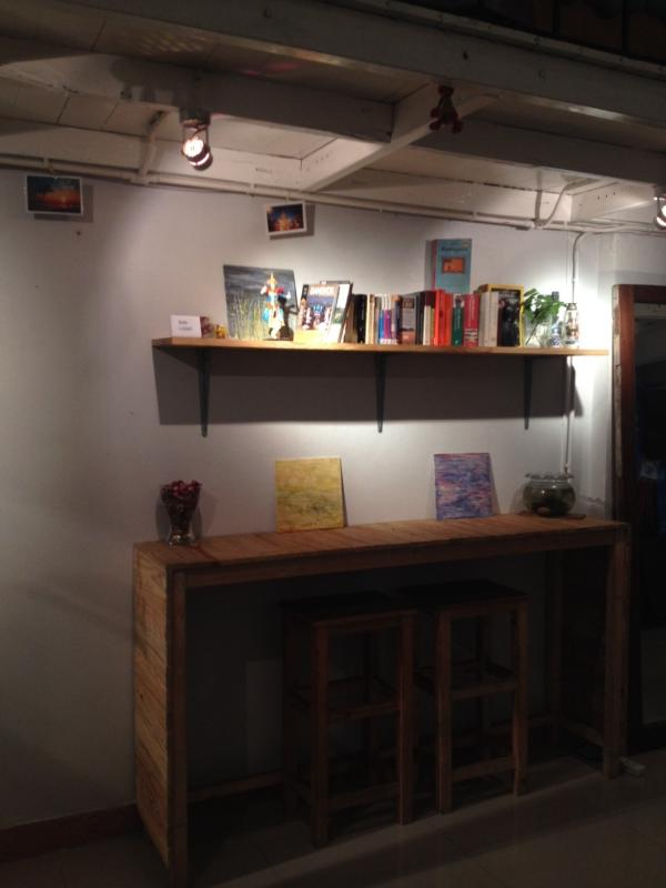 Reading area / Small library