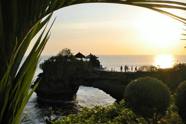 Tanah Laut au soleil couchant