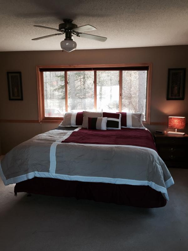 King bed on The JoJo side