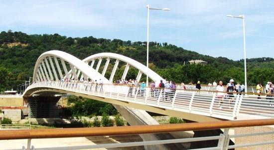 Ponte della Musica a 300 metri
