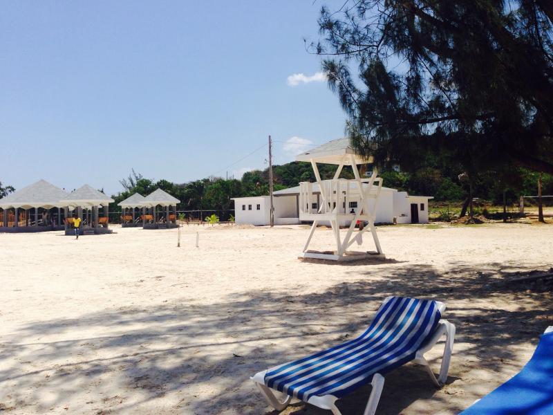 L'ombre à la plage