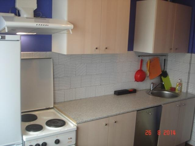 Kitchen at Leningradskaya-23 (2 bedroom apartment)
