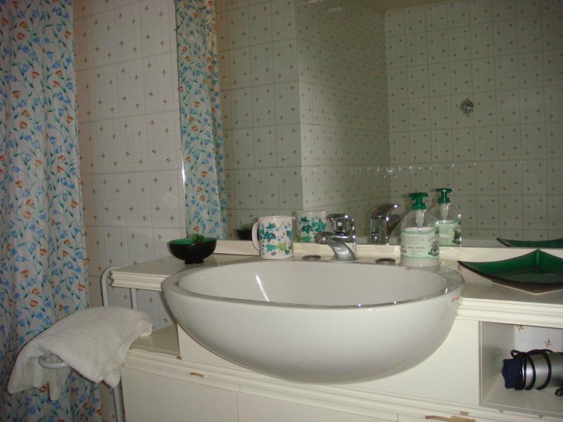 bagno camera azzurra B&B Girovagando