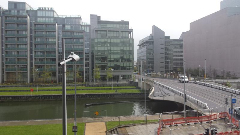 View of modern Dublin