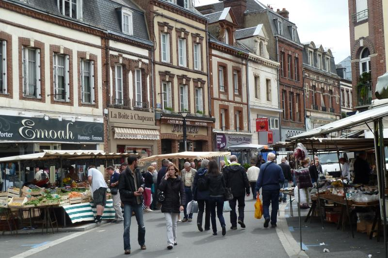 The Open Air Market at L'Aigle