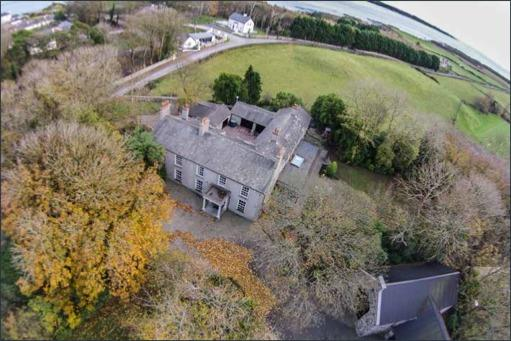 The Old Rectory situated on 3 acres in the heart of Strangford village