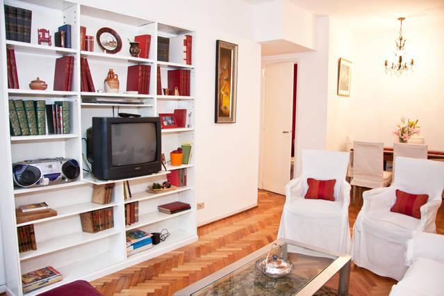 Living Room y biblioteca