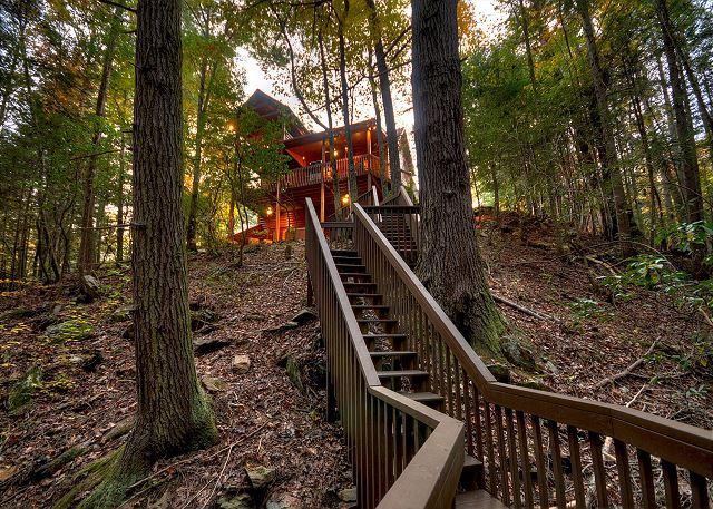 Cabin rental of Blue RIdge